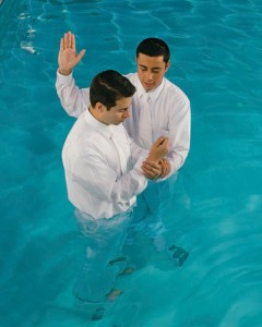 chrzest wodny